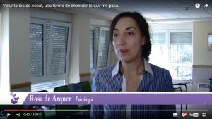 Entrevista a Rosa Arquer _ psicóloga _ Voluntarios de Aecat, una forma de entender lo que me pasa.