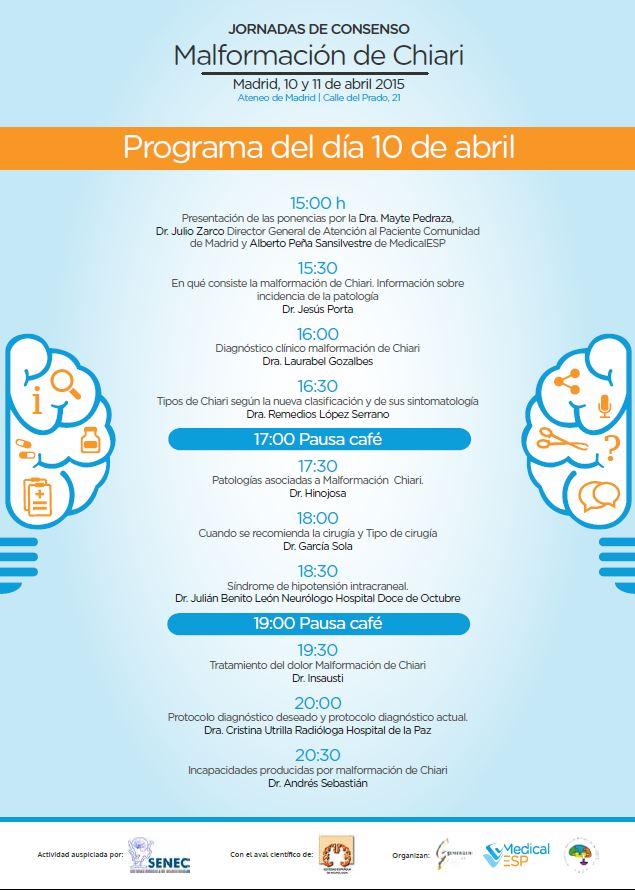 Programa Ateneo día 10