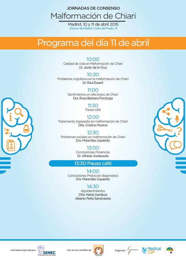 Programa Ateneo día 11