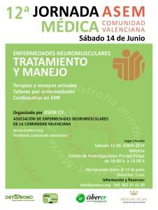 XII ª JORNADA MÉDICA SOBRE ENFERMEDADES NEUROMUSCULARES ASEM CV