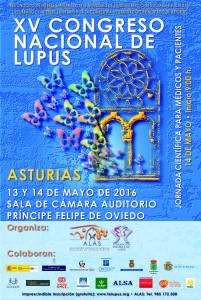 Cartel XV CONGRESO NACIONAL LUPUS