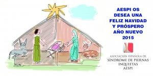 AESPI os desea que paseis unas entrañables Navidades y un Feliz Año 2015