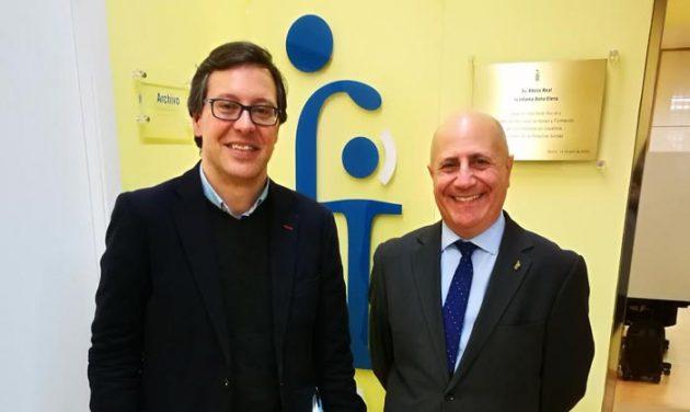 Visita de representantes del PP en Madrid al Movimiento Asociativo de Familias FIAPAS en la Sede de la Confederación (29-enero-18)