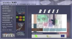 pagina principal web Proyecto REdES
