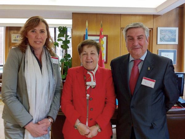 Reunión de Federación ASEM con la Secretaria General de Sanidad y Consumo