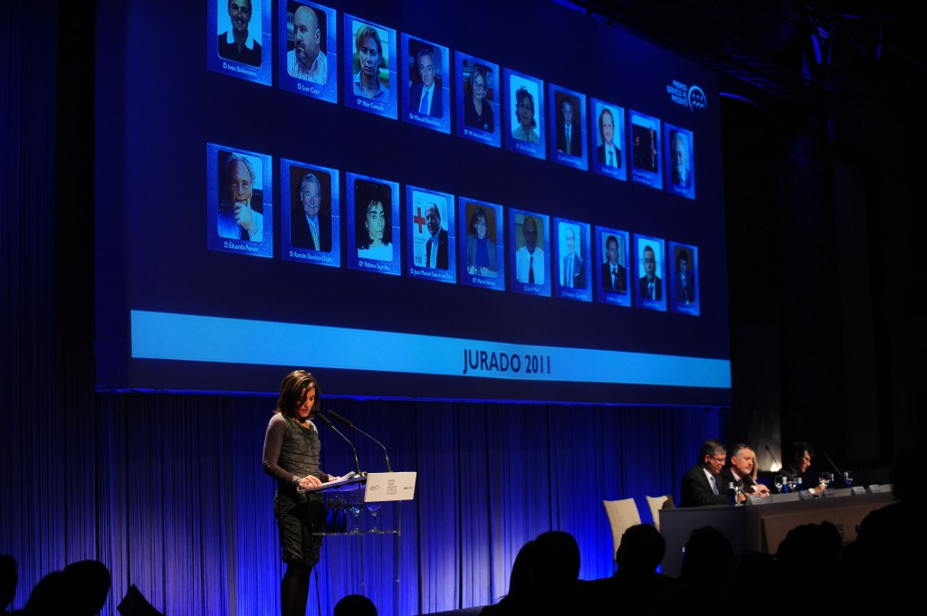 Jurado Premios 2011 a las Mejores Iniciativas de Servicio al Paciente