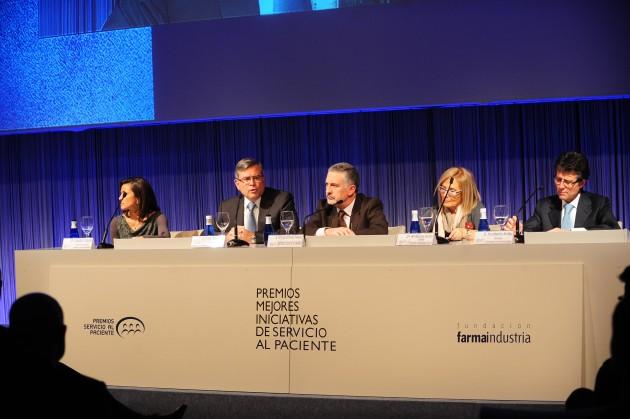Mesa Presidencial Premios 2011