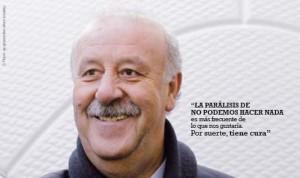 29 de Febrero. Día Mundial de las Enfermedades Raras. Vicente del Bosque es la imagen de la campaña emprendida por la FEDER.