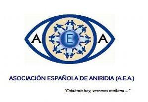 logo de la asociacion española de aniridia