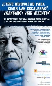 'sin aliento' campaña de la asociación nacional de hipertensión pulmonar