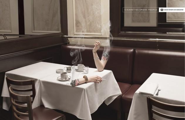 CAMPAÑA INDIA CIGARETTES SMOKE PEOPLE