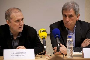 Dr. Albert Jovell y Jordi Sacristán