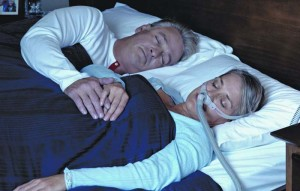 apnea del sueño. dispositivo de presión positiva continua en la vía aérea (CPAP)
