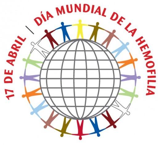 logo del dia mundial de la hemofilia