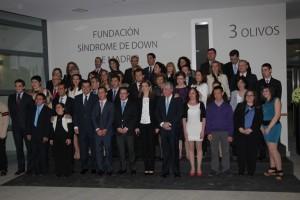 Foto de familia de los XVI Premios Stela de Integración Laboral