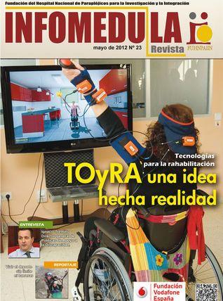 """Último número de la revista """"Infomédula"""""""