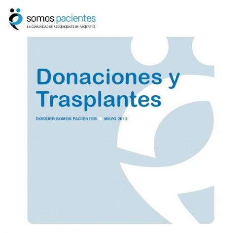 Dossier Donación y Trasplantes