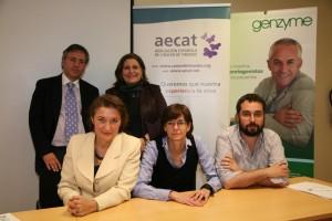 Acto de presentación de la nueva página web de la AECAT.