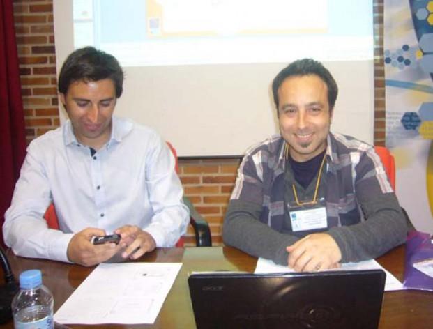 Javier Luengo, director gerente de FEAPS Madrid, y Jose Jiménez, responsable de ocio de la organización