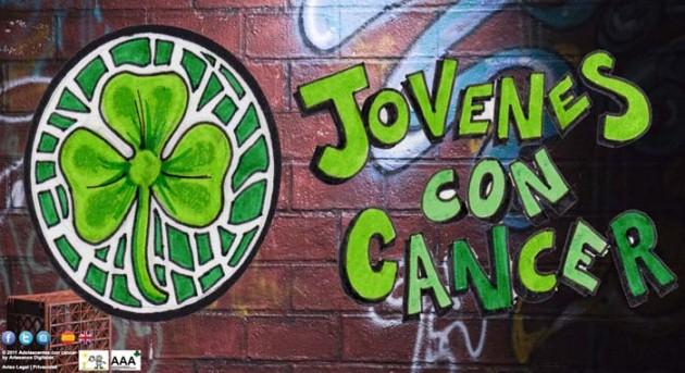 web jovenes con cancer