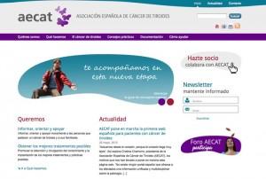 nueva pagina web de la aecat