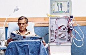 paciente en hemodialisis