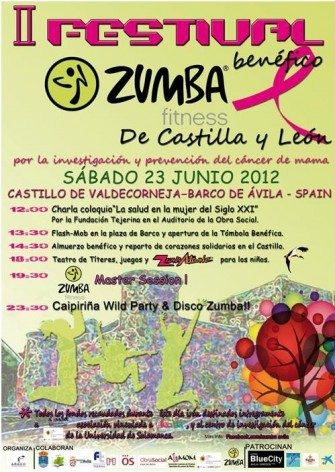 II Festival Benéfico Zumba. Barco de Ávila