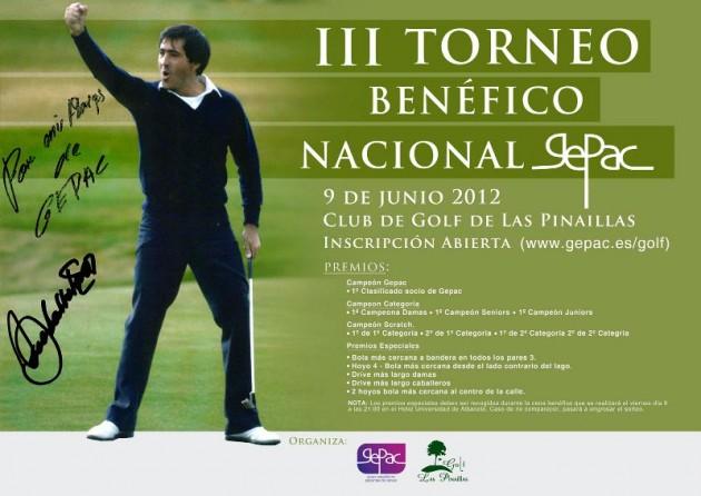 III Torneo Nacional Benéfico de Golf de GEPAC en Albacete