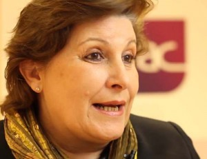 begoña barragan, presidenta del GEPAC