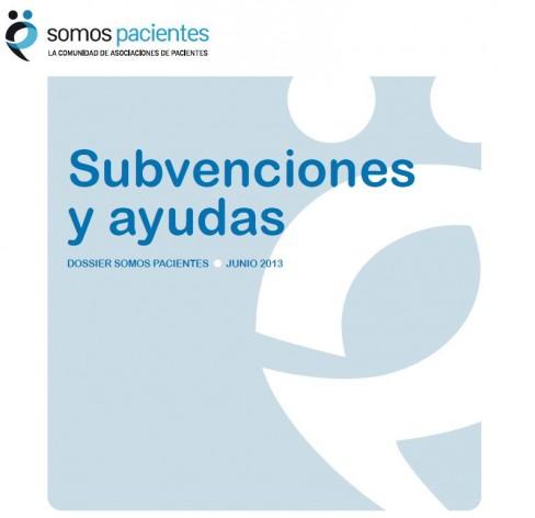 Dossier Subvenciones y ayudas para asociaciones de pacientes