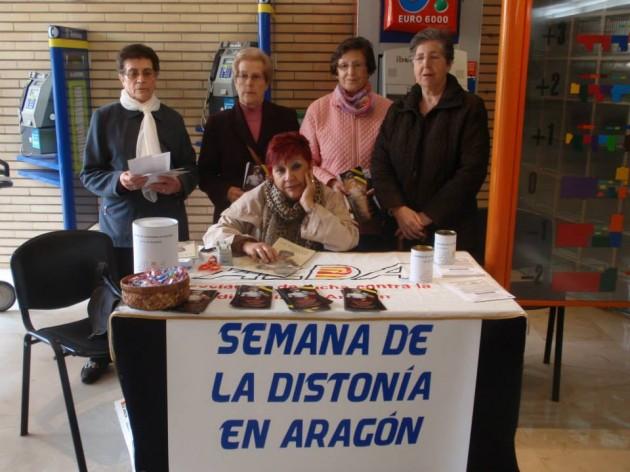 Esta jornada se enmarca en la celebración de la Semana de la Distonía de Aragón.