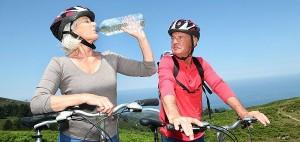 Mayores hidratación