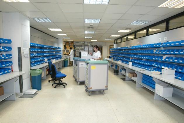 Imagen de una farmacia hospitalaria.
