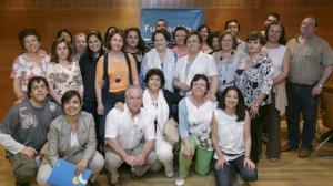 Imagen del grupo que finalizó el taller el año pasado en la Fundación Cajasol.