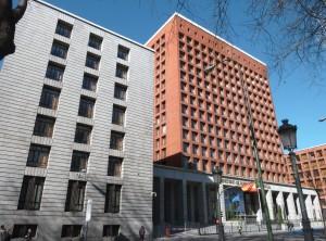 Sede del Ministerio de Sanidad, Servicios Sociales e Igualdad (Madrid).