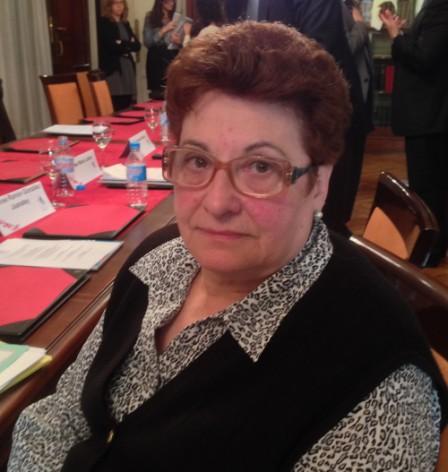 Carmen Aleix, presidenta de la Federación Española del Ictus (FEI).