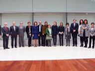 participantes en el III Foro contra el Cáncer de la AECC