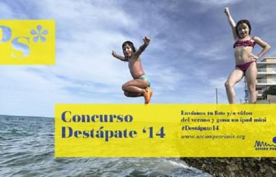 Este domingo finaliza el plazo del concurso 'Destápate '14' de Acción Psoriasis