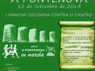 Marcha contra el Cáncer AECC A Pontenova