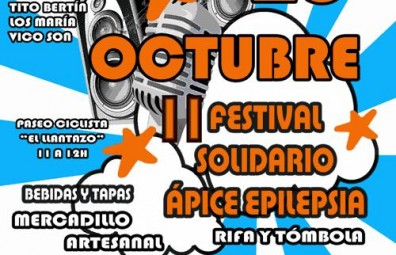 II Festival Solidario Ápice Epilepsia, este sábado en Gerena (Sevilla)