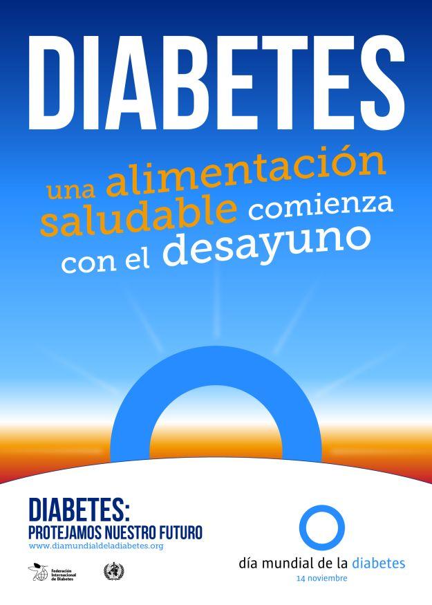 la charla sobre la fundación de diabetes