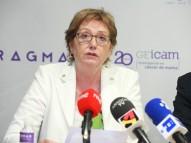 Roswitha Britz, presidenta de la Federación Española de Cáncer de Mama (FECMA).