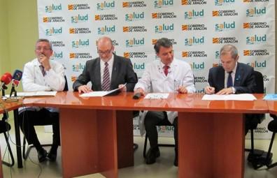 Convenio de la Asociación Parkinson Aragón y el ISS Aragón