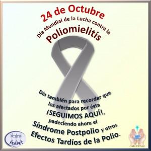 Día Mundial Lucha contra la Poliomielitis