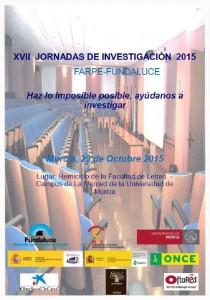 XVII Jornadas de Investigación FARPE-FUNDALUCE
