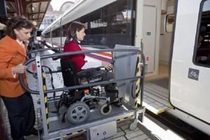 asistencia persona con discapacidad