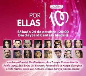 concierto 'Por ellas' 2015