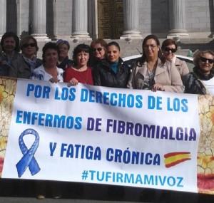 entrega firmas fibromialgia