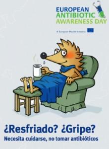 Día Europeo para el Uso Prudente de Antibióticos