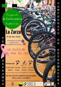 III Duatlón Solidario La Zarza